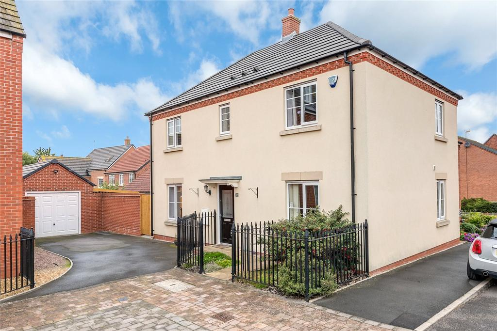 4 Bedrooms Detached House for sale in Hazledine Way, Bridgnorth, Shropshire