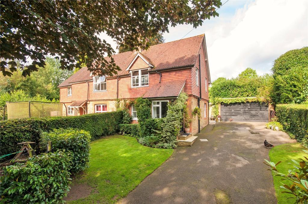 3 Bedrooms Semi Detached House for sale in Peaslake Lane, Peaslake, Guildford, Surrey, GU5