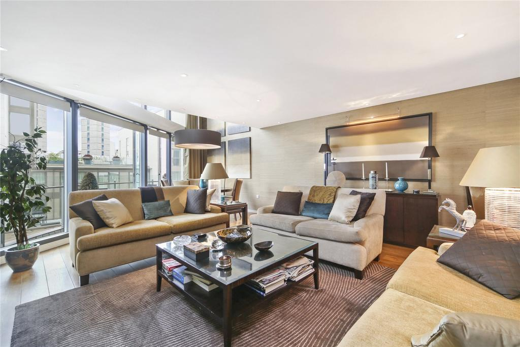 3 Bedrooms Penthouse Flat for sale in Hermitage Street, London, W2