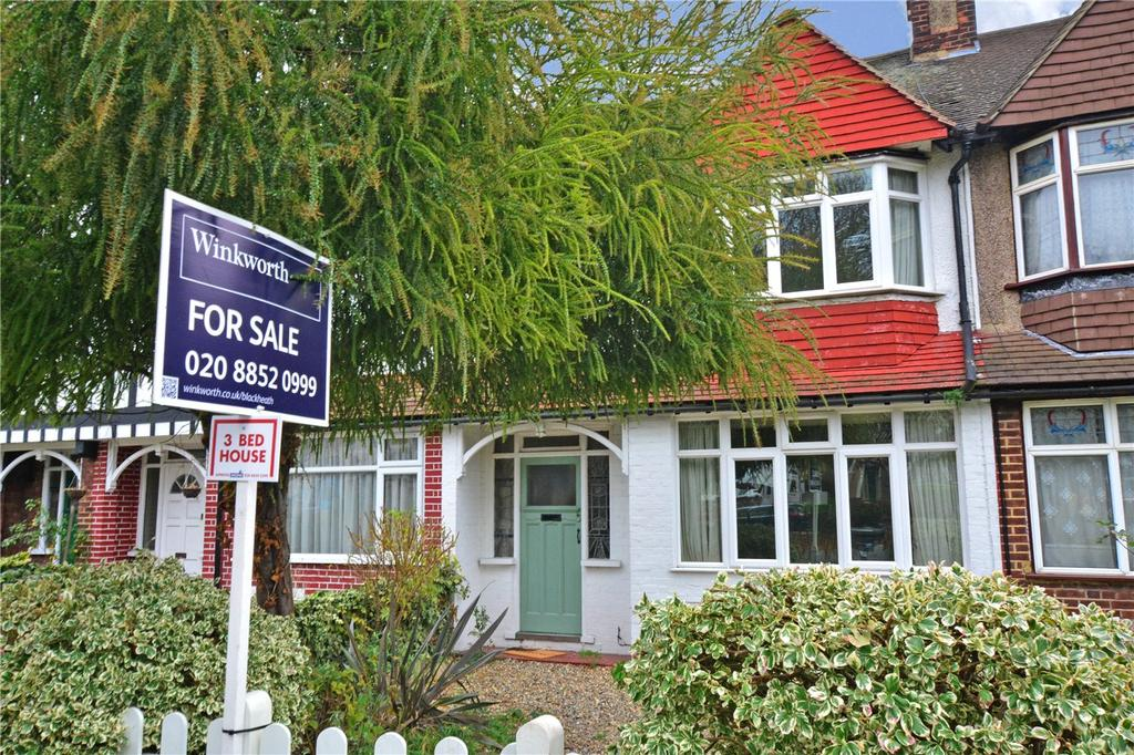 3 Bedrooms Terraced House for sale in Milborough Crescent, Lee, London, SE12