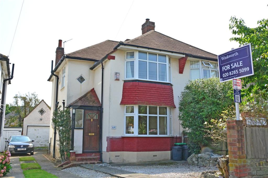 3 Bedrooms Semi Detached House for sale in Elmstead Avenue, Chislehurst, BR7