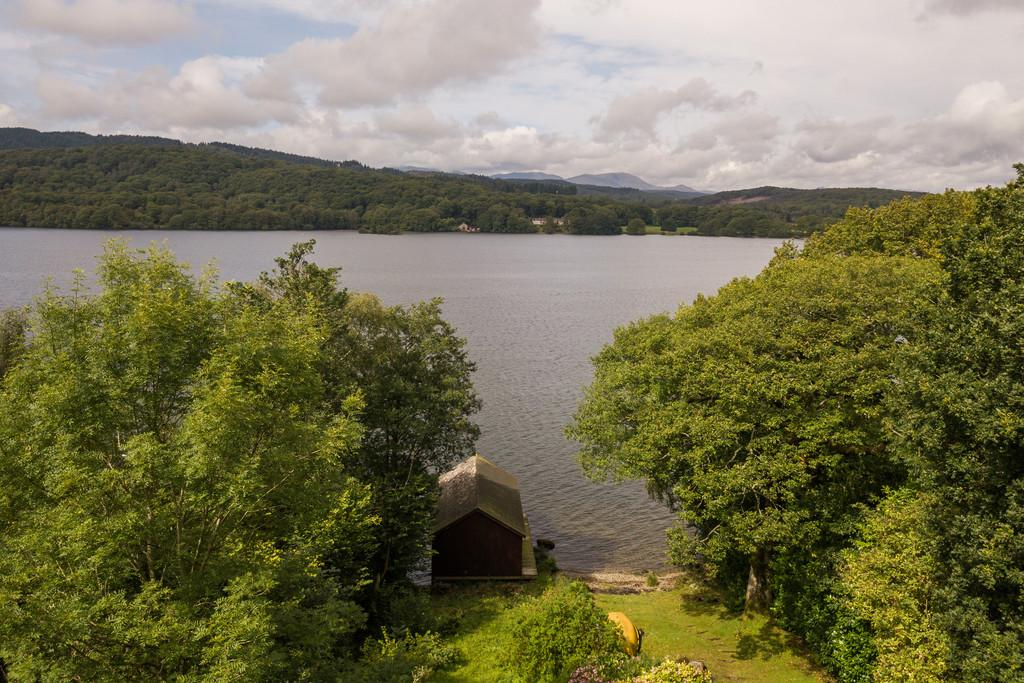 Garden, Boathouse and Lake Windermere