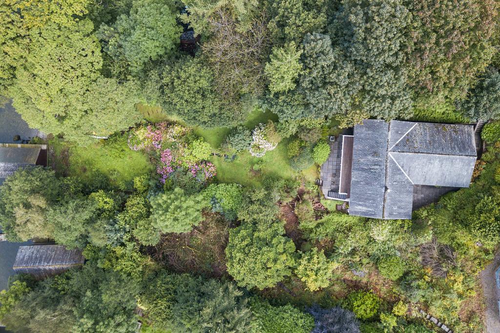 Overhead shot of Property