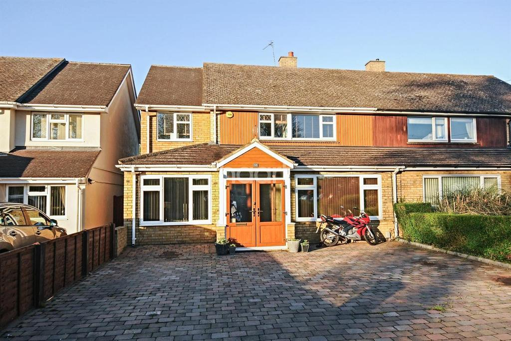 5 Bedrooms Semi Detached House for sale in New Road, Melbourn, Royston, Hertfordshire