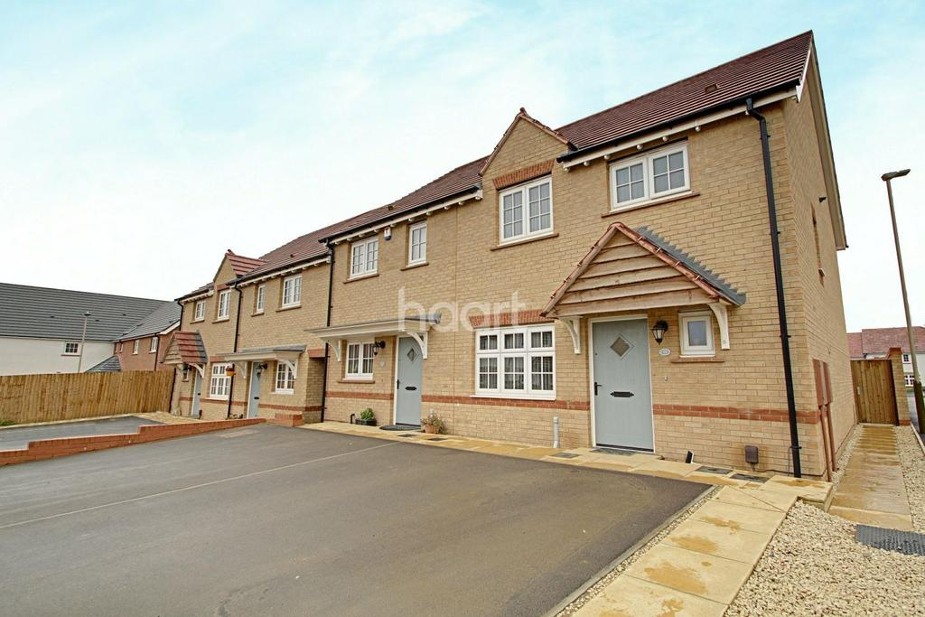 3 Bedrooms End Of Terrace House for sale in Kinsley Road, Hamilton