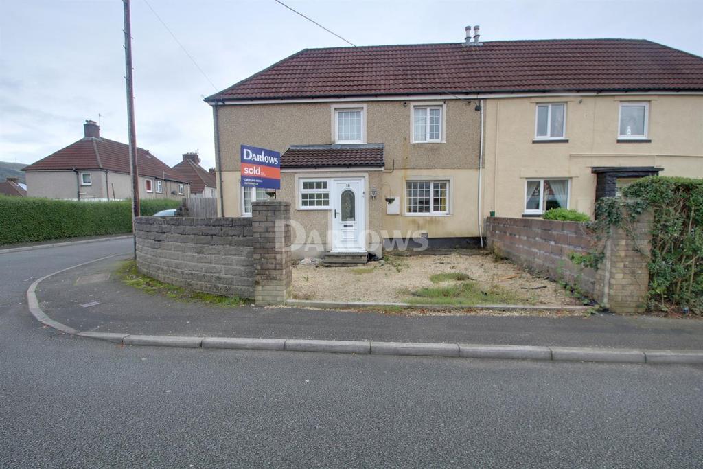 3 Bedrooms Semi Detached House for sale in Willow Street, Rhydyfelin