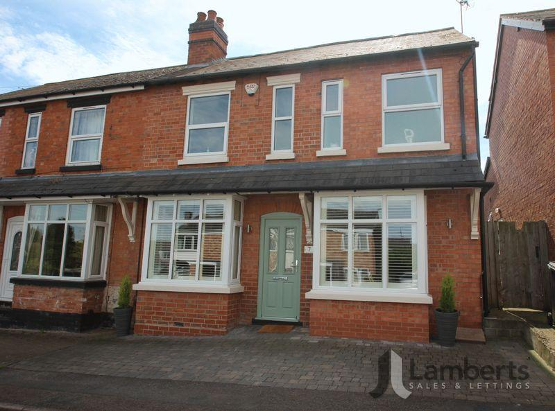 3 Bedrooms Semi Detached House for sale in Manor Road, Studley
