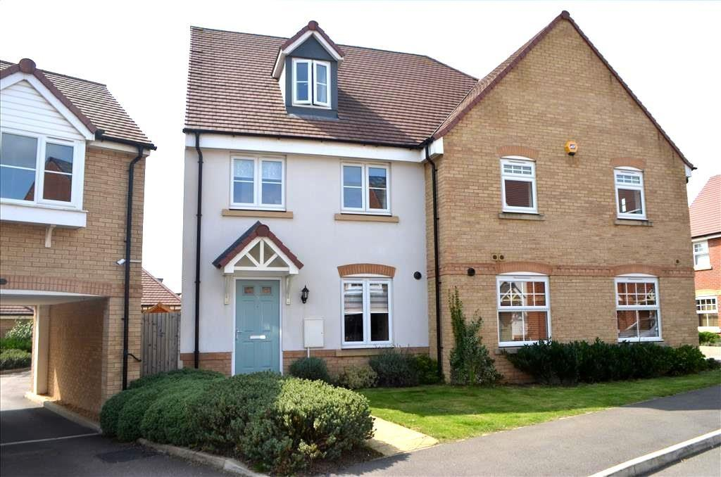 4 Bedrooms Semi Detached House for sale in Pople Road, Biggleswade, SG18