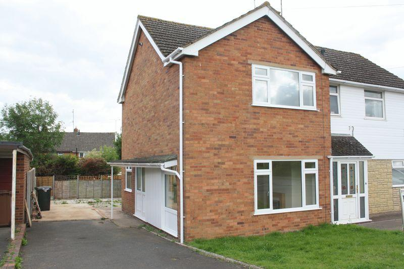 2 Bedrooms Semi Detached House for sale in Three Springs Road, Pershore
