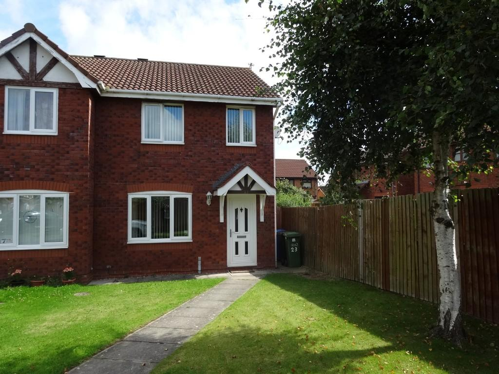 3 Bedrooms Semi Detached House for sale in Juniper Way, Rhyl