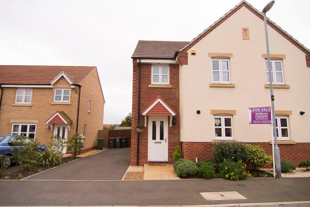 3 Bedrooms Semi Detached House for sale in Howgate Close, Sileby