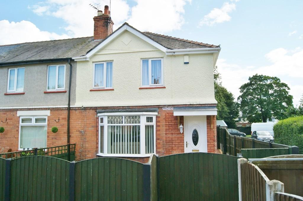 3 Bedrooms End Of Terrace House for sale in Jarman Avenue, Wrexham