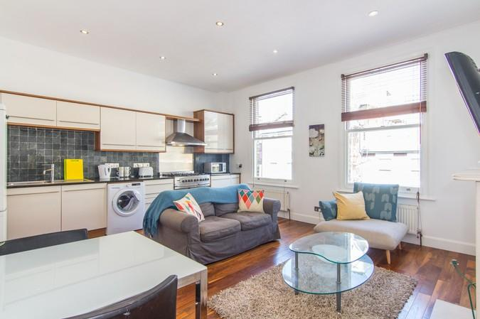 2 Bedrooms Flat for sale in Greyhound road, Hammersmith