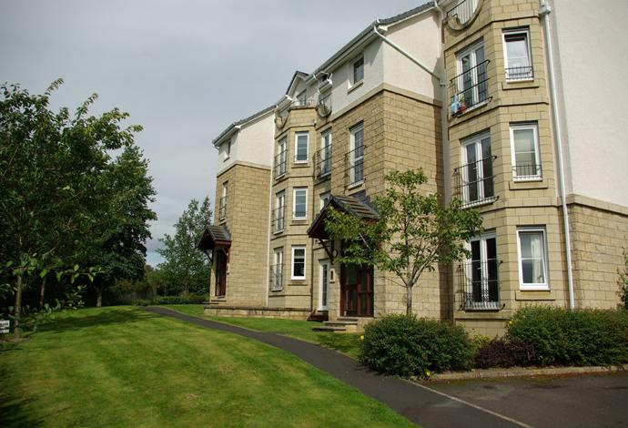 2 Bedrooms Flat for sale in Flat 1, 4 Weavers Linn, Tweedbank, TD1 3SX