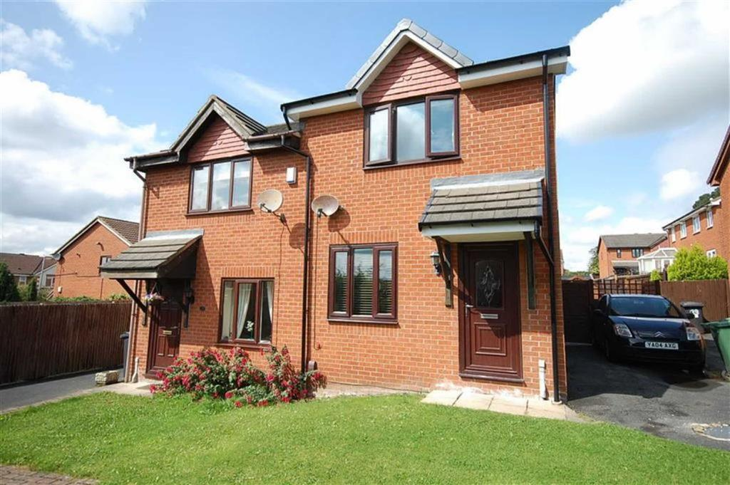 2 Bedrooms Semi Detached House for sale in Cornfield, Dewsbury, WF13