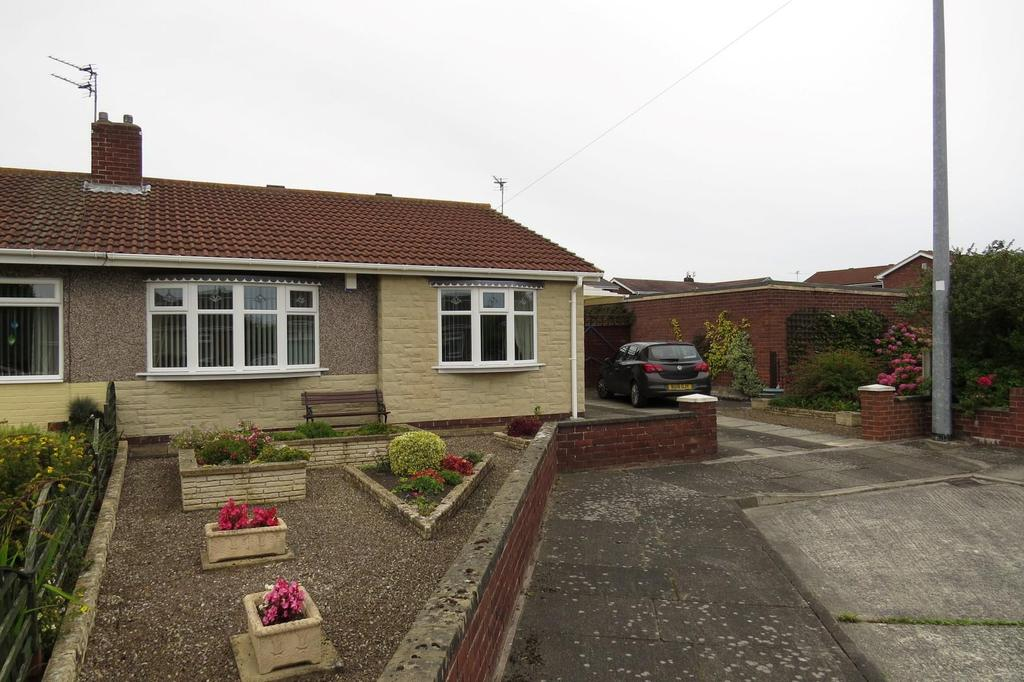 2 Bedrooms Semi Detached Bungalow for sale in Bowfell Gardens, Wansbeck Estate, Stakeford