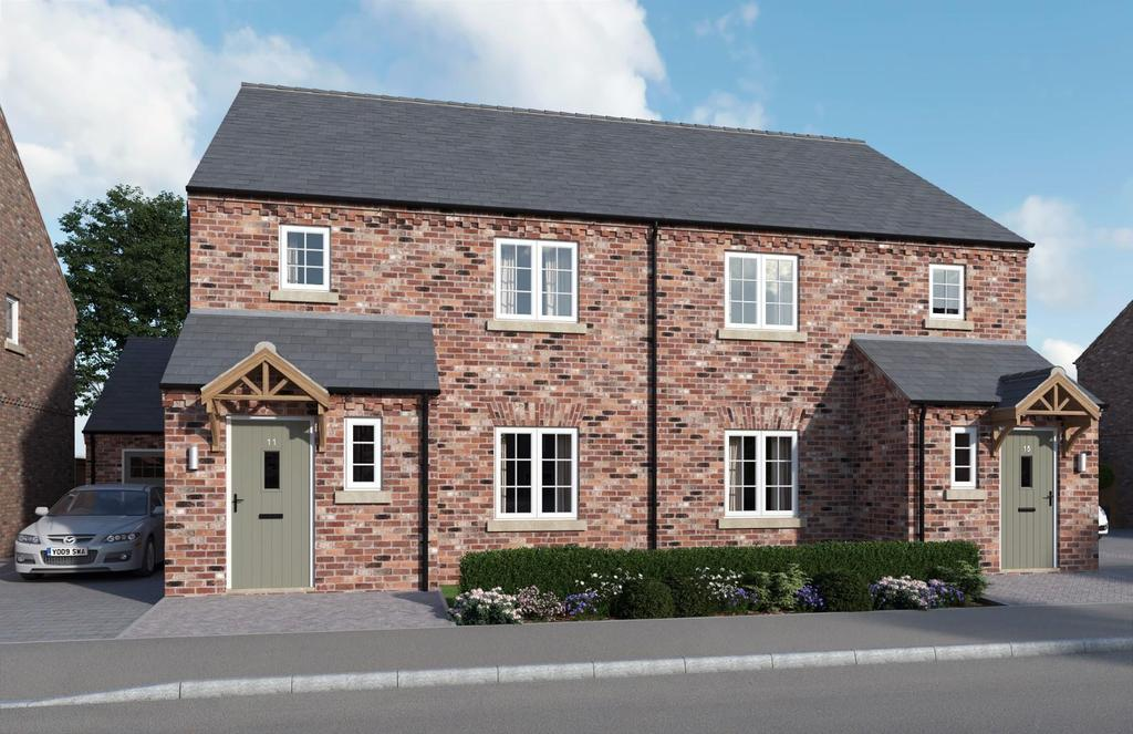 3 Bedrooms Semi Detached House for sale in The Laurels, Church Fenton, York