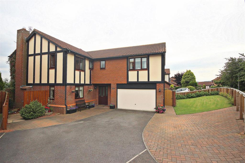 5 Bedrooms Detached House for sale in Cookes Wood, Broompark, Durham
