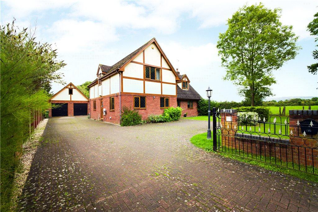 4 Bedrooms Detached House for sale in Twyning Road, Strensham, Worcester, Worcestershire, WR8