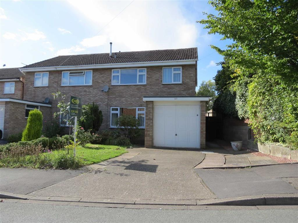 3 Bedrooms Semi Detached House for sale in Boscobel Drive, Heath Farm, Shrewsbury, Shropshire