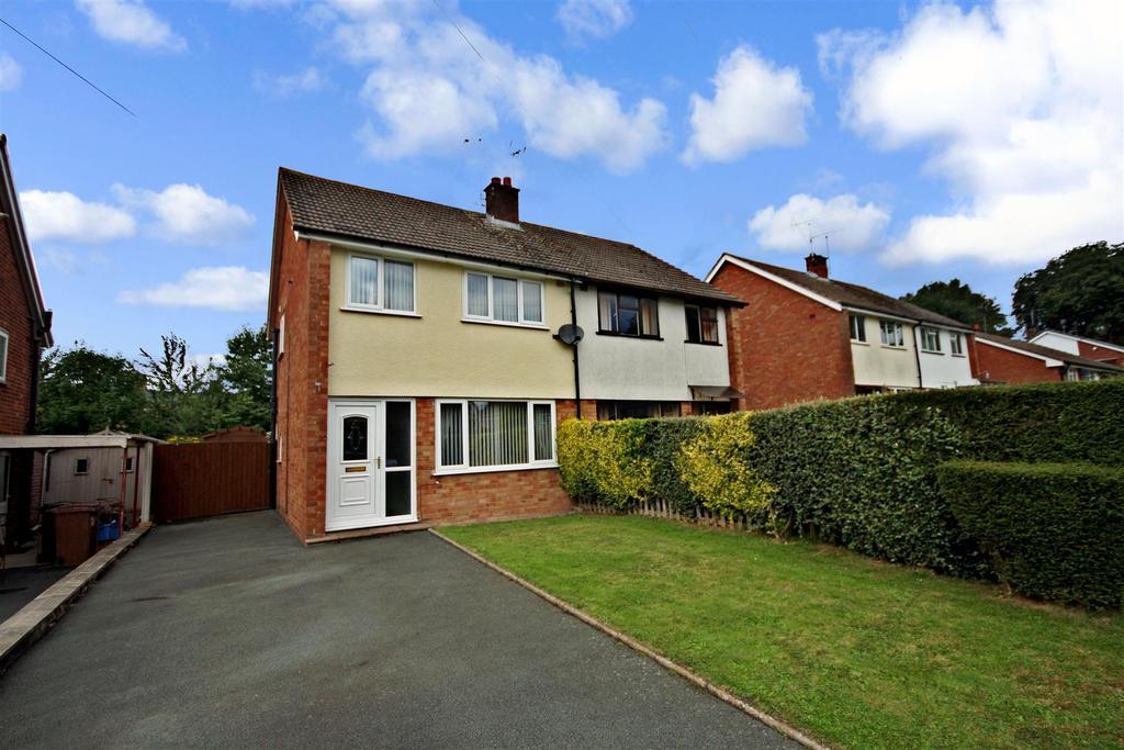 3 Bedrooms Semi Detached House for sale in Bridgeman Road, Oswestry