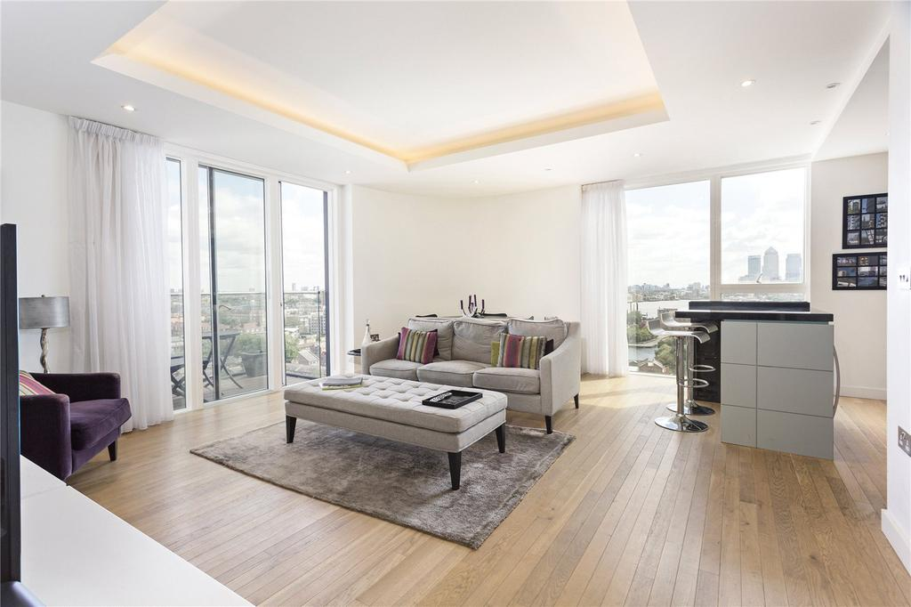 2 Bedrooms Flat for sale in Park Vista Tower, 5 Cobblestone Square, London