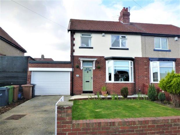 3 Bedrooms Semi Detached House for sale in HUNTER TERRACE, GRANGETOWN, SUNDERLAND SOUTH