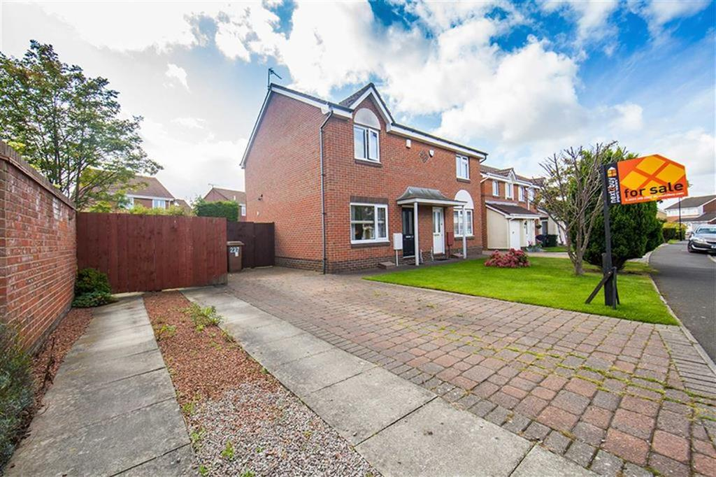 2 Bedrooms Semi Detached House for sale in Bewick Park, Wallsend, Tyne And Wear, NE28