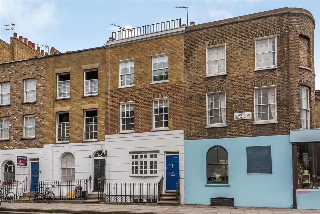 3 Bedrooms Terraced House for sale in Liverpool Road, Islington, London, N1