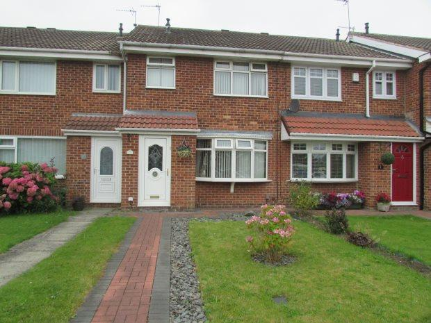 3 Bedrooms Terraced House for sale in SILVERWOOD CLOSE, CLAVERING, HARTLEPOOL