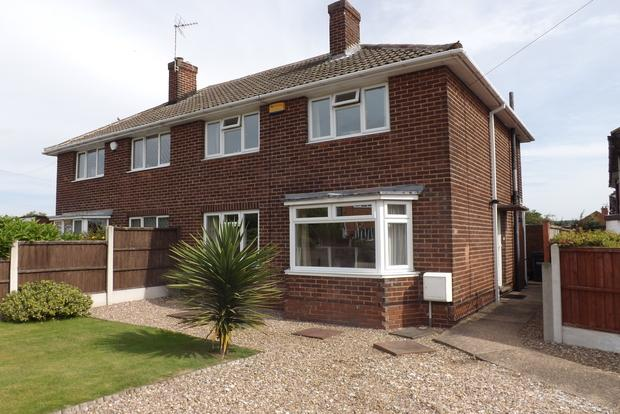 3 Bedrooms Semi Detached House for sale in Thorndale Road, Calverton, Nottingham, NG14