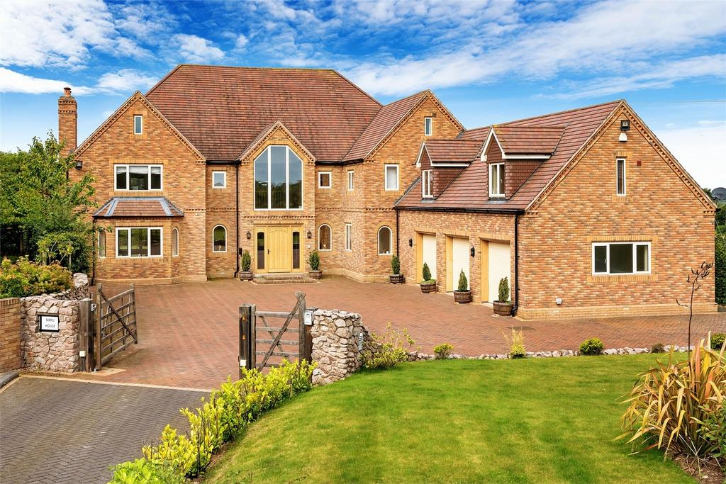 5 Bedrooms Detached House for sale in Sieru House, Bratton Road, Bratton, Telford, Shropshire