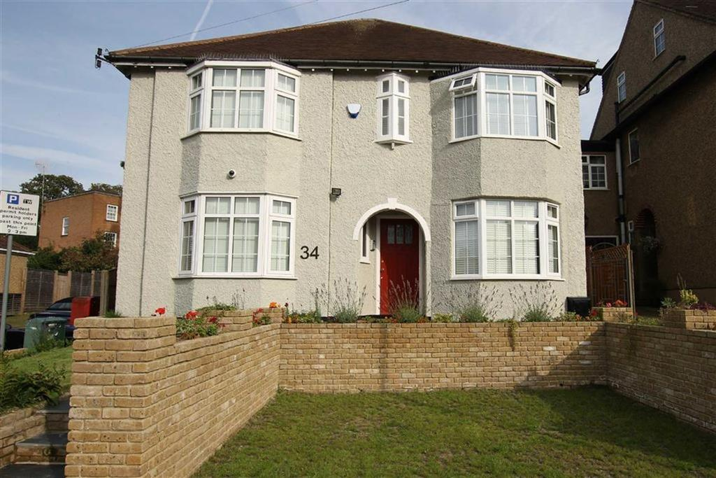 5 Bedrooms Detached House for sale in Ridgeview Road, Whetstone, London