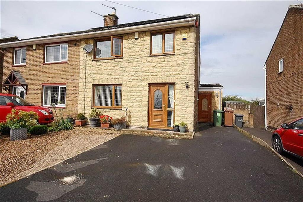 3 Bedrooms Semi Detached House for sale in Leeside Road, Heckmondwike, WF16