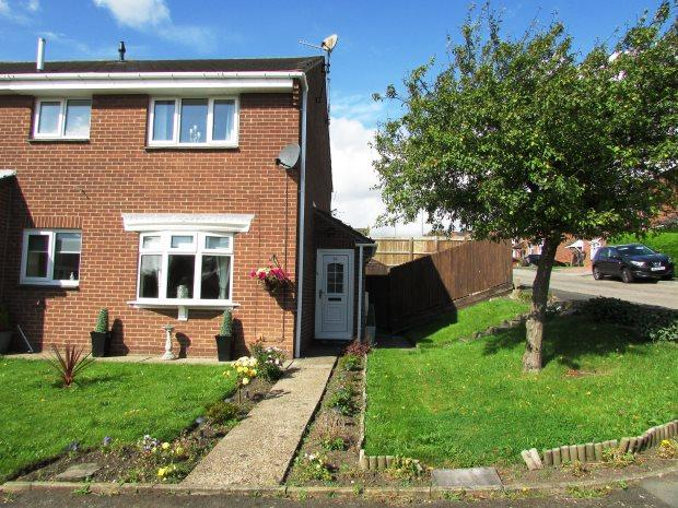 1 Bedroom Semi Detached House for sale in HAVERLEY DRIVE, SEAHAM, SEAHAM DISTRICT