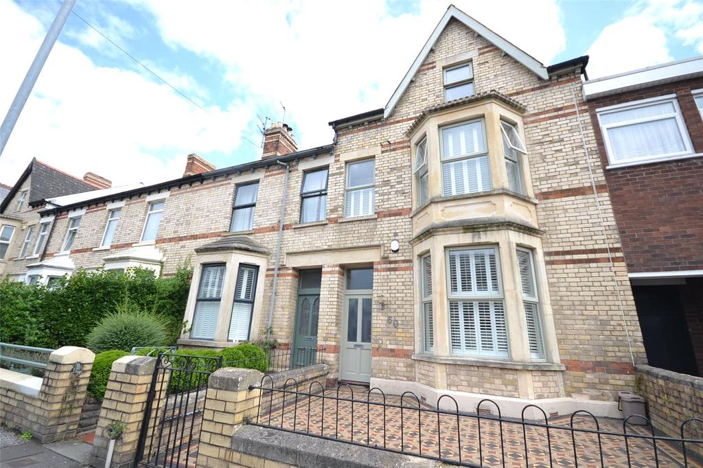 4 Bedrooms Terraced House for sale in Kings Road, Pontcanna, Cardiff, CF11