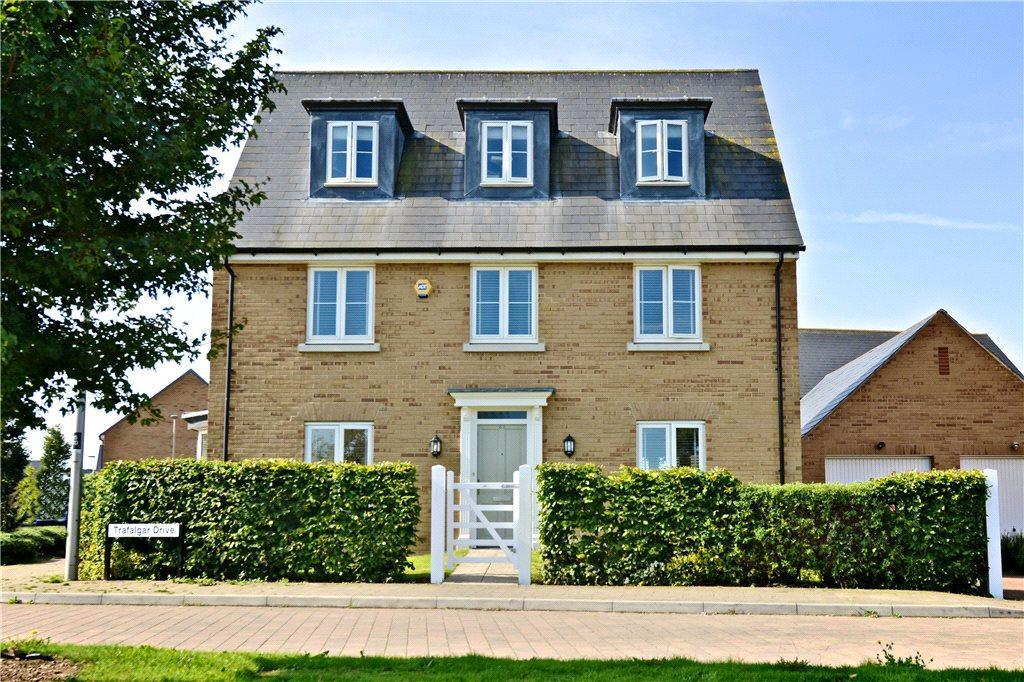 5 Bedrooms Detached House for sale in Trafalgar Drive, Brooklands, Milton Keynes, Buckinghamshire