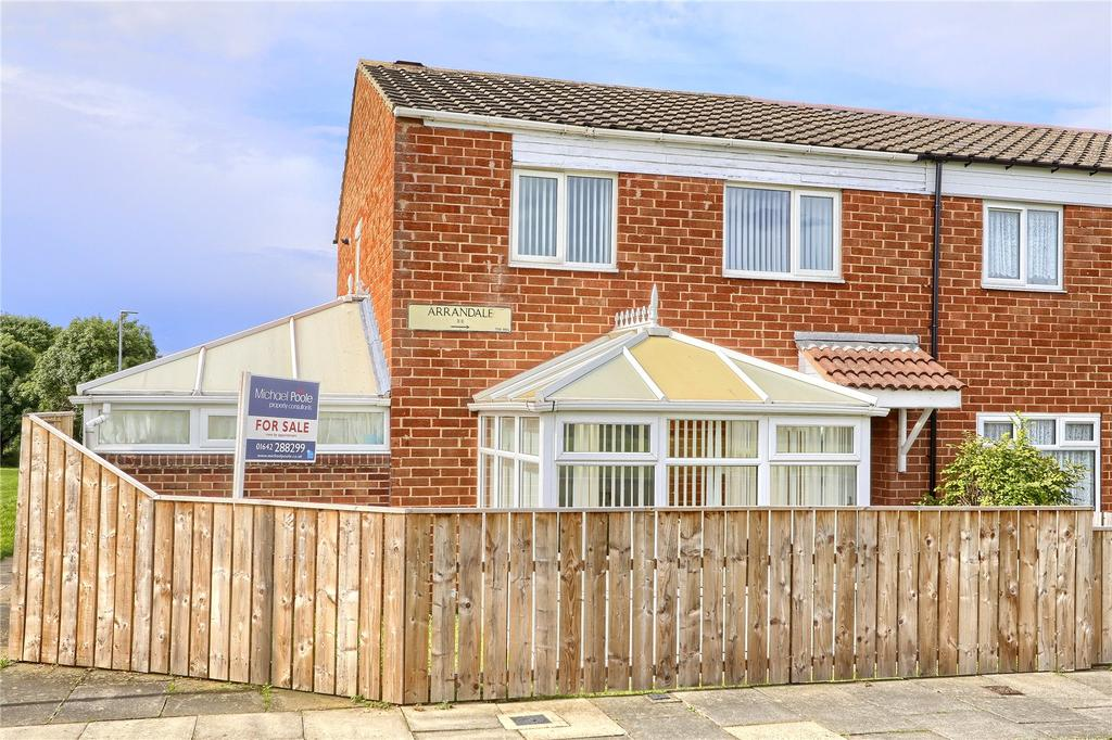 3 Bedrooms End Of Terrace House for sale in Arrandale, Hemlington