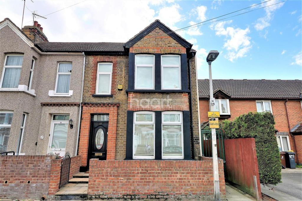 3 Bedrooms End Of Terrace House for sale in Harpour Road, Barking, Essex