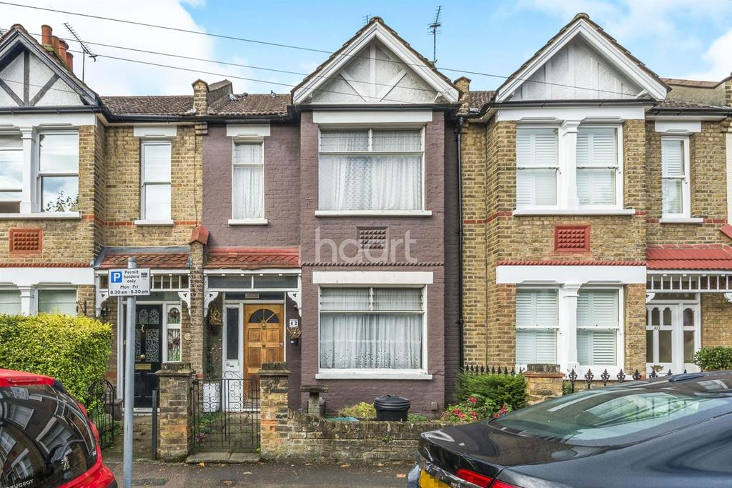 2 Bedrooms Terraced House for sale in Aston Road, Raynes Park, London, SW20
