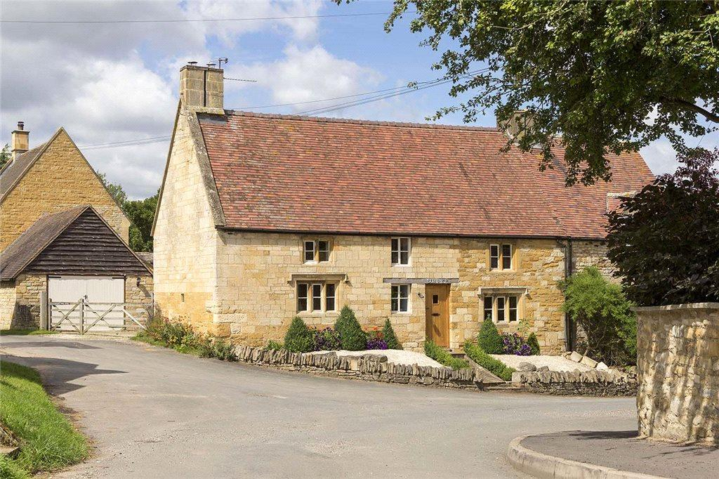 2 Bedrooms Semi Detached House for sale in Sunrise Cottage, Stretton-On-Fosse, Gloucestershire, GL56