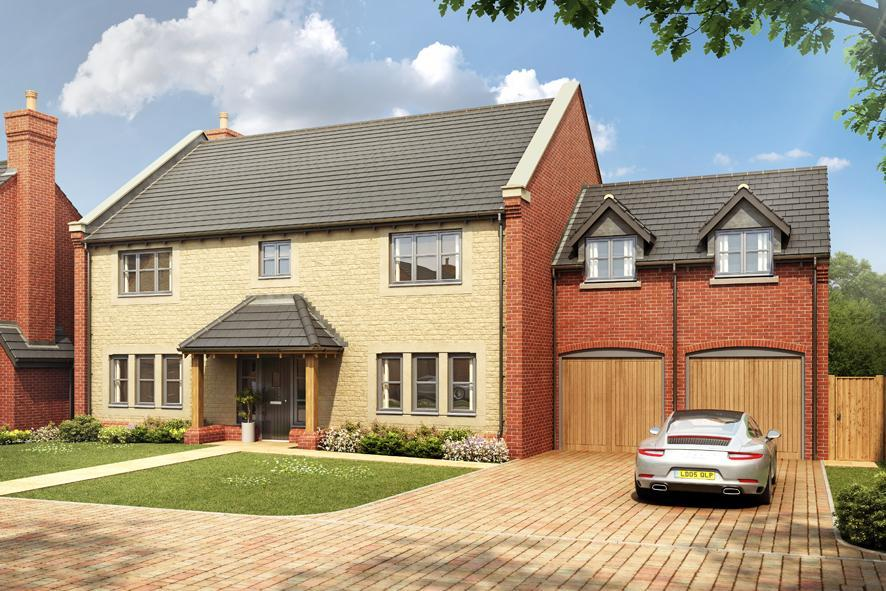 5 Bedrooms Detached House for sale in Plot 4 Bearsted Grange, Main Street, Middle Tysoe
