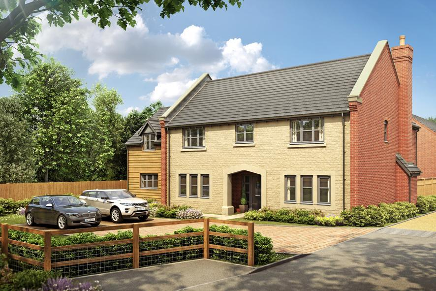 4 Bedrooms Detached House for sale in Plot 1 Bearsted Grange, Main Street, Middle Tysoe