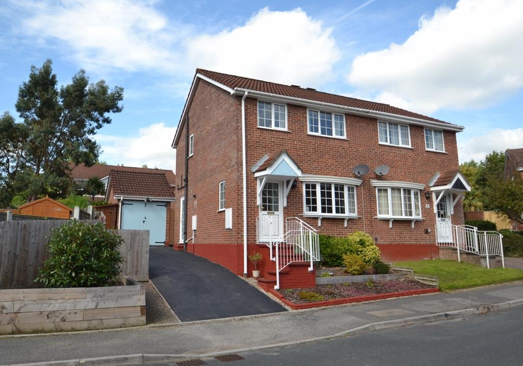 3 Bedrooms Semi Detached House for sale in Creekmoor