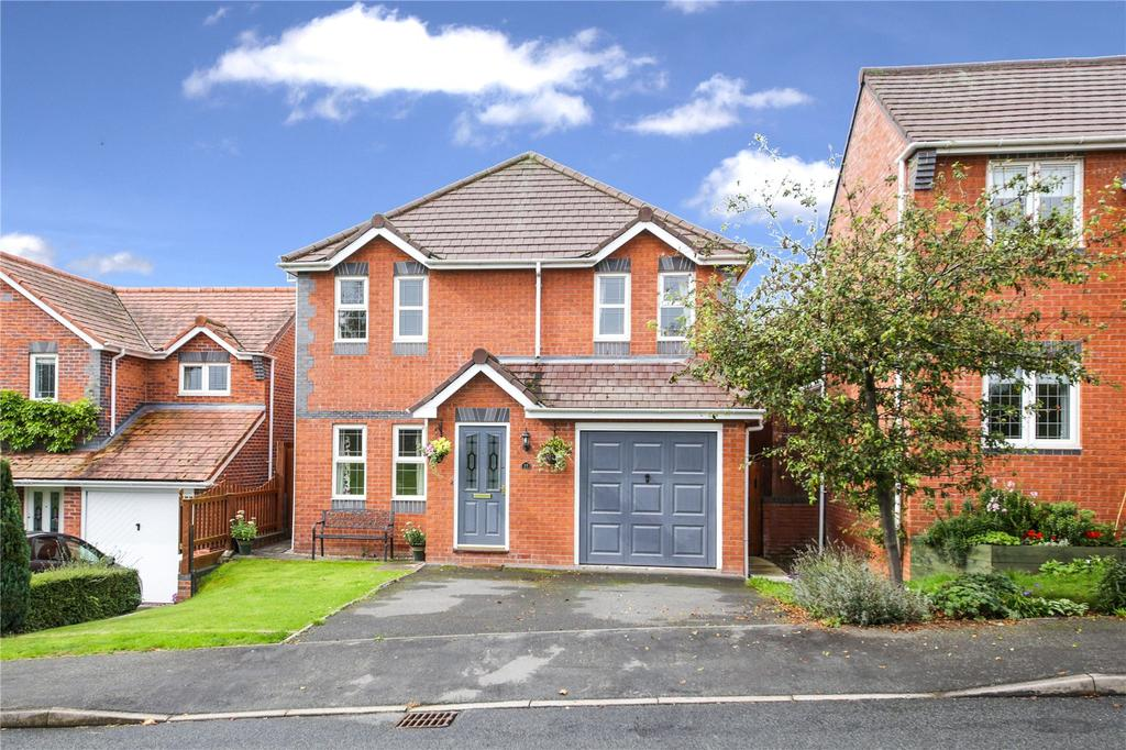 4 Bedrooms Detached House for sale in Boraston Drive, Burford, Tenbury Wells, Shropshire