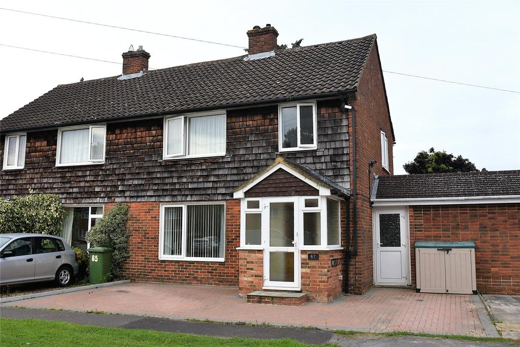 3 Bedrooms Semi Detached House for sale in Bishopswood Road, Tadley, Hampshire, RG26