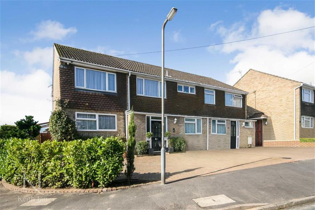 4 Bedrooms Semi Detached House for sale in Holbeck Lane, West Cheshunt