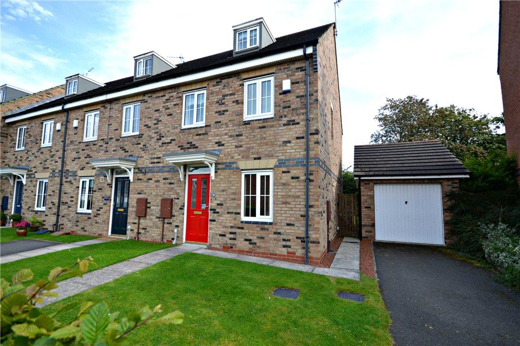 3 Bedrooms End Of Terrace House for sale in Northfield Close, Stokesley, North Yorkshire
