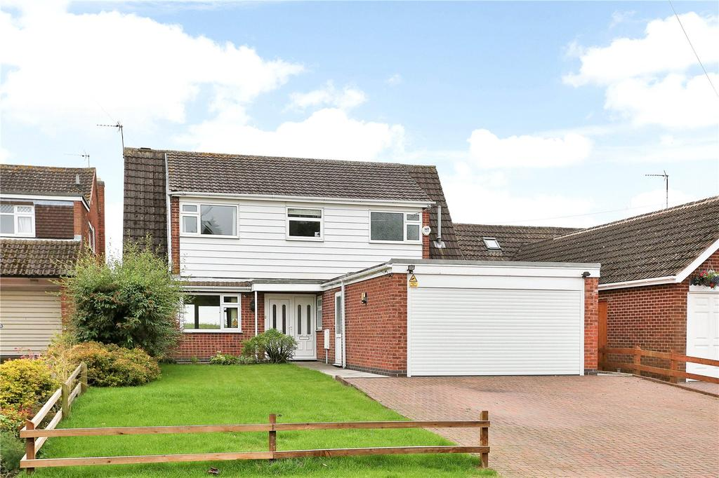 4 Bedrooms Detached House for sale in Middlefield Road, Cossington, Leicester