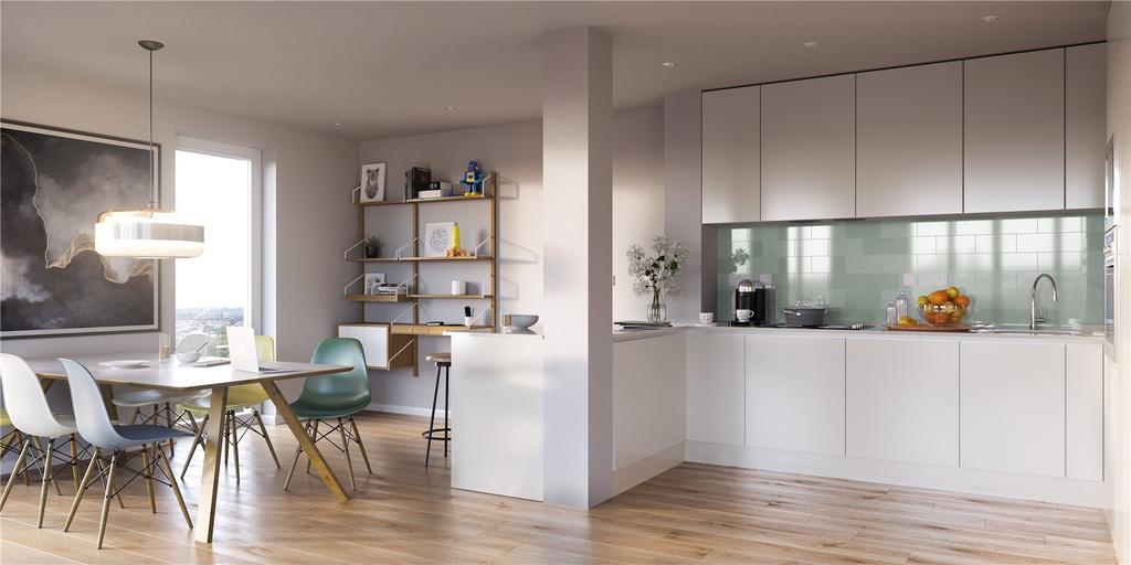 3 Bedrooms Penthouse Flat for sale in Mapleton Crescent, 11 Mapleton Crescent, Wandsworth, London, SW18